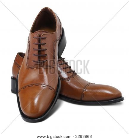 Isolated Shoes With Clipping Path