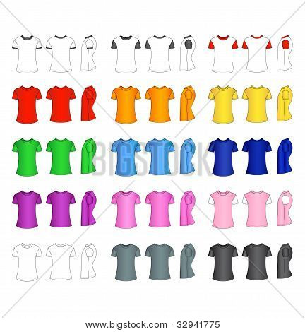 Men's t-shirt templates
