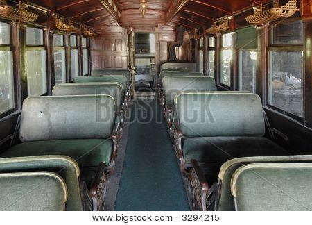 Nineteenth Century Railroad Passenger Car