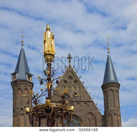Ridderzaa detailsl, the Hague, Netherlands