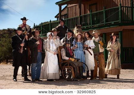 Old West Characters