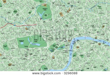 Downtown London Map