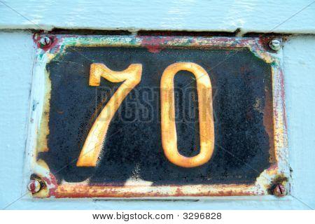 Número 70
