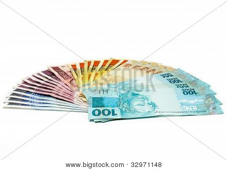 Brazilian currency notes