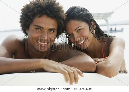 Portrait of South American couple