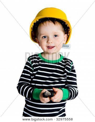 Little Mechanic Boy