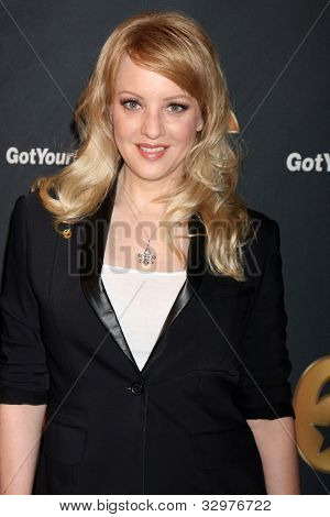 LOS ANGELES - MAY 10:  Wendi McLendon-Covey arrives at the Launch of Got Your 6  at SAG / AFTRA Headquarters on May 10, 2012 in Los Angeles, CA