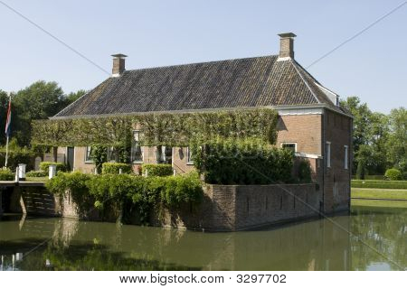 Old Mansion With Moat