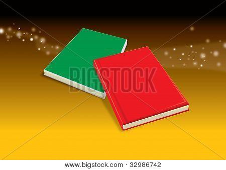 Magia del libro rojo y verde