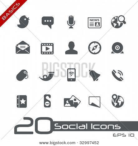 Social Icons // Basics