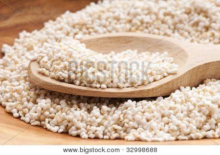 Amaranth Popping, Gluten-free, High Protein Grain Cereal