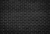 Wall Dark Brick Wall Texture Background. Brickwork Or Stonework Flooring Interior Rock Old Pattern C poster