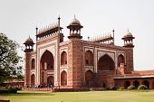 picture of darwaza  - Main Gateway for Taj Mahal entrance - JPG