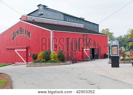 Testing Barn At Jim Beam Distillery