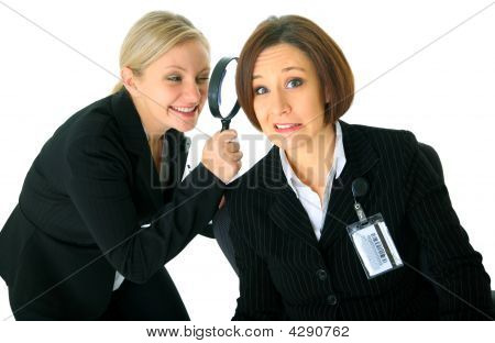 Afraid Employee Under Investigation