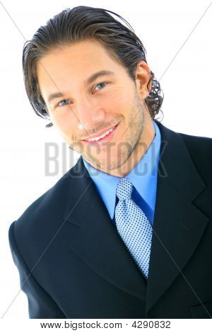 Handsome Smile Businessman