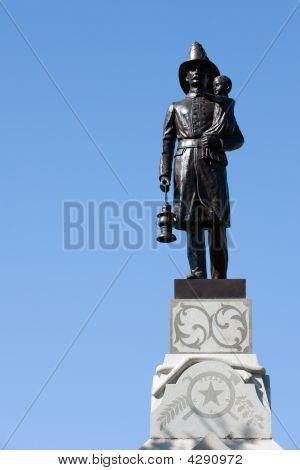 Firefighter Statue