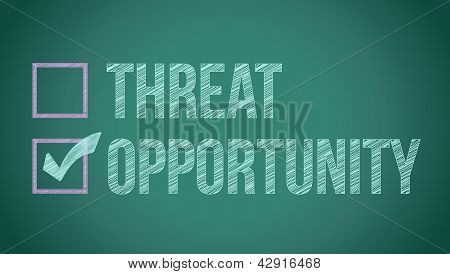 Opportunity Vs Threat