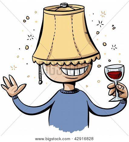 Lampshade Drunk