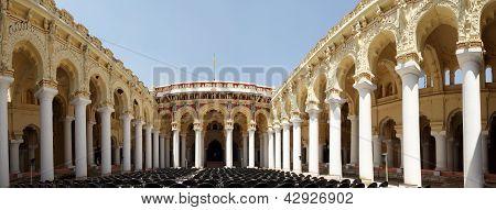 Madurai, Tamil Nadu, India, Thirumalai Nayakkar Mahal palace complex