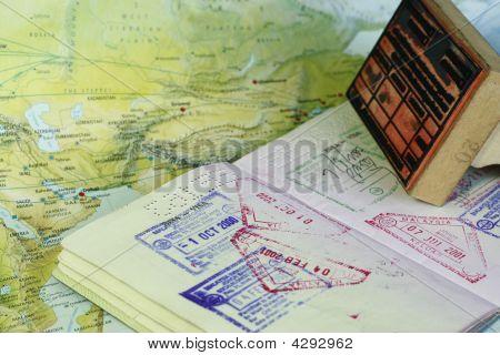 Visum Briefmarken