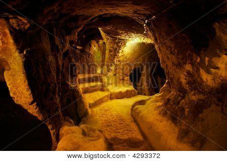 Cave City, Derinkuyu, Turquía