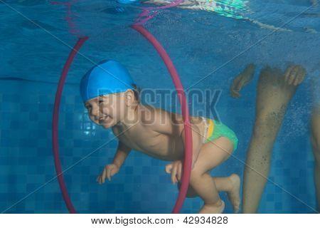 Toddler  Dive In The Hoop