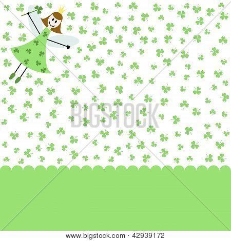 St Patrick Card