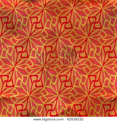 Seamless abstract pattern. Vector illustration. Vintage background.