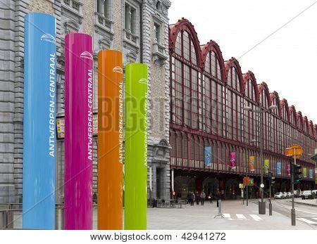 Railway Station Antwerp