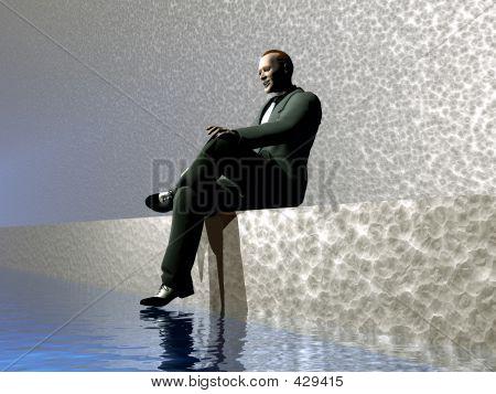 Man Waiting