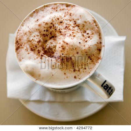Cappucino On Saucer