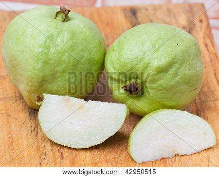 Fresh Of Guava Fruit