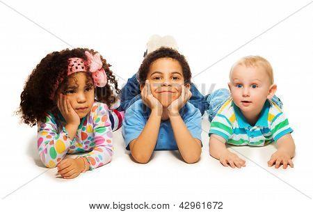 Three Beautiful Kids