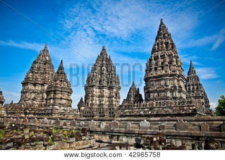Prambanan temple near to Yogyakarta on Java, Indonesia.