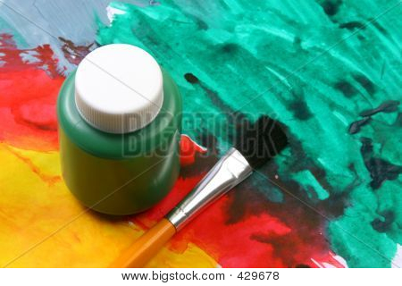 Kids Artistic Expressions Green