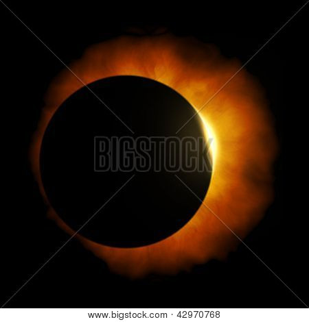 An image of a nice sun eclipse