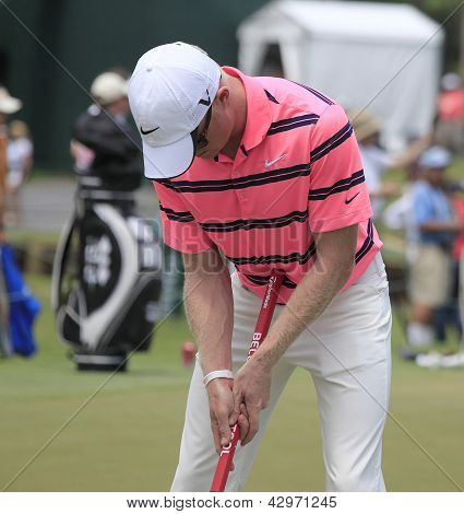 Simon Dyson at The Players Championship 2012