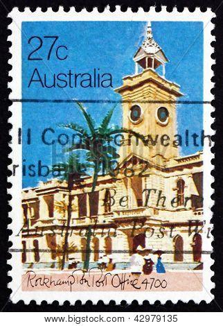 Postage Stamp Australia 1982 Rockhampton Post Office, 1892