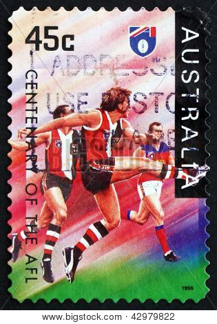 Postage Stamp Australia 1996 St. Kilda Saints, Football Team