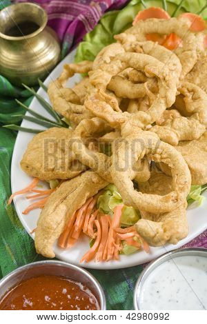 Indian food, Vegetable pakora