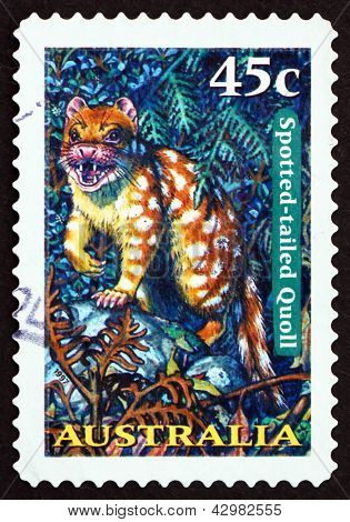 Postage Stamp Australia 1997 Spotted-tailed Quoll, Tiger Quoll