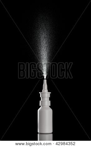 Spray Bottle Liquid Perfume Drop