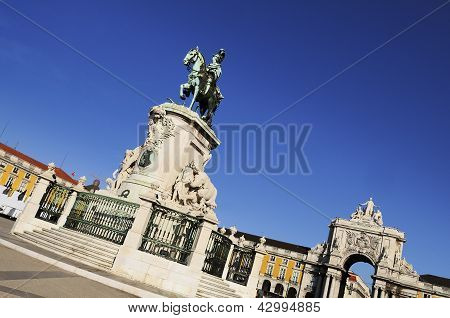 Arch Of Augusta In Lisbon