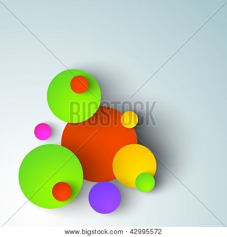 Vector illustration of Indian colorful festival Holi background.