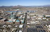 pic of piestewa  - Aerial view of Downtown Tempe Arizona looking North - JPG