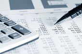 stock photo of trade  - Accounting - JPG