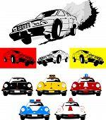 foto of monster-truck  - poster of the car monster truck vector - JPG