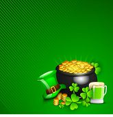 image of pot gold  - Irish Happy ST - JPG