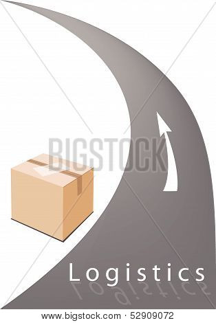 Cardboard Box Ready For Delivery And Shipping